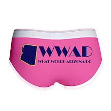 WWAD Bumper Sticker.gif Women's Boy Brief