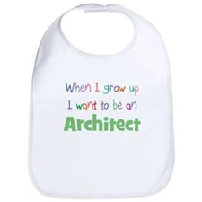 When I Grow Up Architect Bib