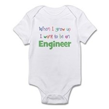 When I Grow Up Engineer Infant Bodysuit