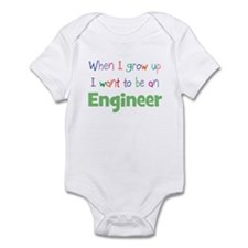 When I Grow Up Engineer Onesie