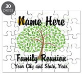 Personalized family reunion Puzzles