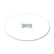 sawyerconstantwh 20x12 Oval Wall Decal