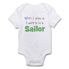 When I Grow Up Sailor Infant Bodysuit