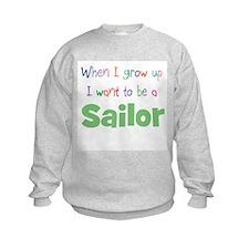 When I Grow Up Sailor Sweatshirt