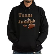 team jacob with paw 2 copy Hoodie