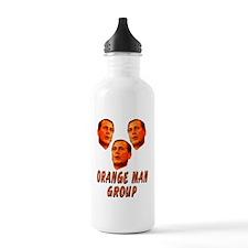 Orange man group3 Water Bottle