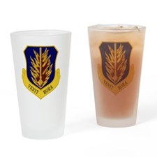 97th Bomb Wing - Venit Hora Drinking Glass
