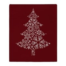 Christmas Tree Throw Blanket