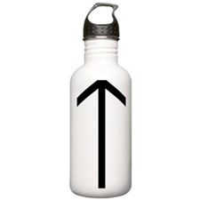 1000px-Runic_letter_ti Water Bottle