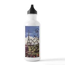 eifel tower wrought ir Water Bottle