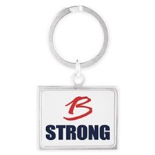 B Strong Keychains