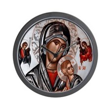Get Help Around the Clock with Our Lady Wall Clock