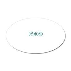 desmondconstantwh 20x12 Oval Wall Decal