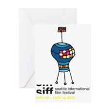 SIFF10_T-Shirt_04a Greeting Card