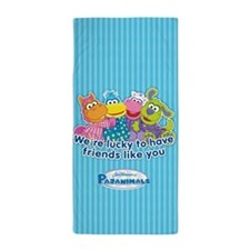 Pajanimals Friends Beach Towel