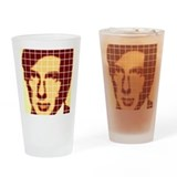 Leonard cohen Pint Glasses