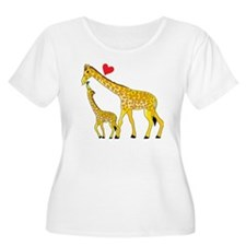 giraffe and b T-Shirt
