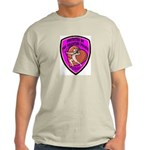 The Valentine Police Ash Grey T-Shirt