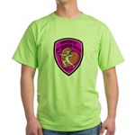 The Valentine Police Green T-Shirt