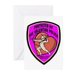The Valentine Police Greeting Cards (Pk of 10)