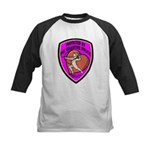 The Valentine Police Kids Baseball Jersey