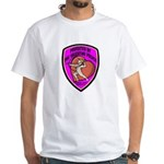 The Valentine Police White T-Shirt