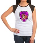 The Valentine Police Women's Cap Sleeve T-Shirt