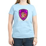 The Valentine Police Women's Pink T-Shirt