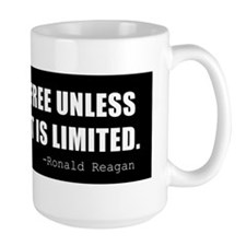 Reagan-Quote-(limited-govt)-black Mug