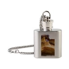 Rick Loves Kim Flask Necklace