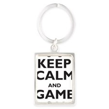 game-on Portrait Keychain