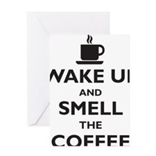 wake-up Greeting Card