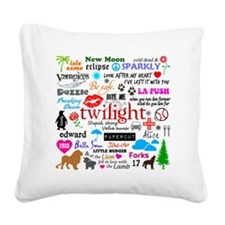 Twilight Memories Square Canvas Pillow