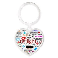 Twilight Mem MP Heart Keychain