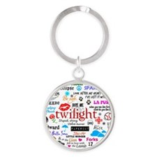 Twilight Mem MP Round Keychain