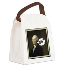 george-washingtonWbor Canvas Lunch Bag