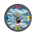 Magritte Pug Wall Clock