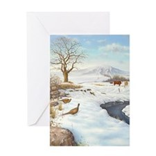 Unique Christmas wall Greeting Card