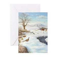 Unique Christmas wall Greeting Cards (Pk of 10)