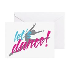 lets-dance-with-dancer3 Greeting Card