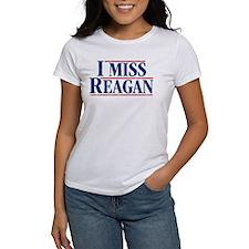 I Miss Reagan, distressed look T-Shirt