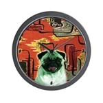 Mod 50's Pug Clock