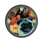 Pug Wall Clock