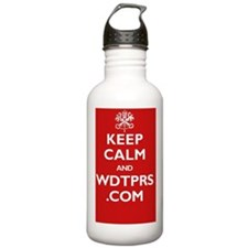 2-keep_calm_wdtprs_06_ Water Bottle