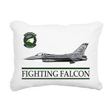 fighting_falcon_f16_555_ Rectangular Canvas Pillow