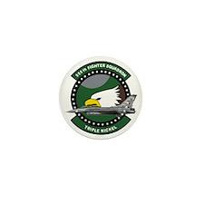 555th_fs_f16_f-16_falcon Mini Button