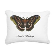 lambiswatching Rectangular Canvas Pillow
