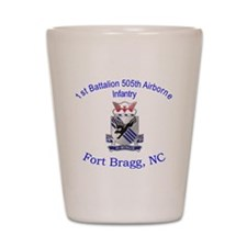 1st Bn 505th ABN Shot Glass