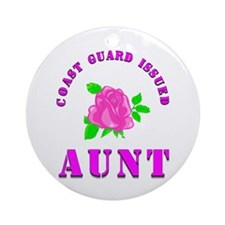 coast gurad aunt Ornament (Round)