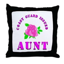 coast gurad aunt Throw Pillow